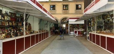 El próximo jueves se inaugura la feria del Libro Antiguo y de Ocasión en San Lorenzo del Escorial