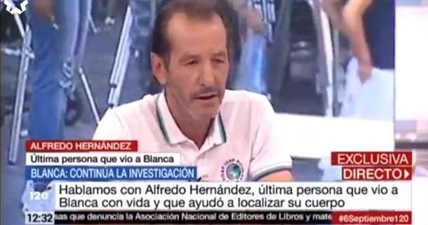 Alfredo Hernández fue la última persona que vio con vida a Blanca Fernández Ochoa