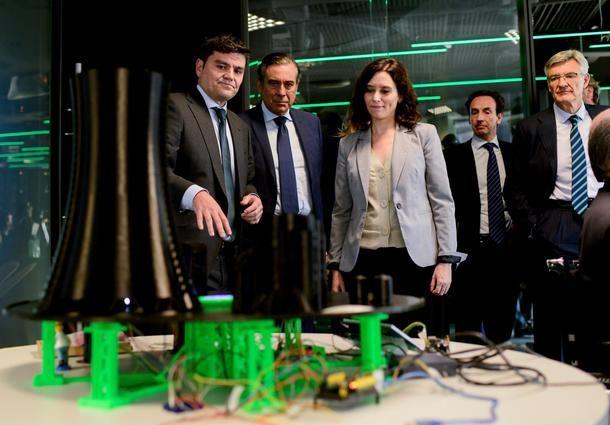 La presidenta regional, Isabel Díaz Ayuso anuncia la creación de un departamento de ciberseguridad en la Comunidad de Madrid