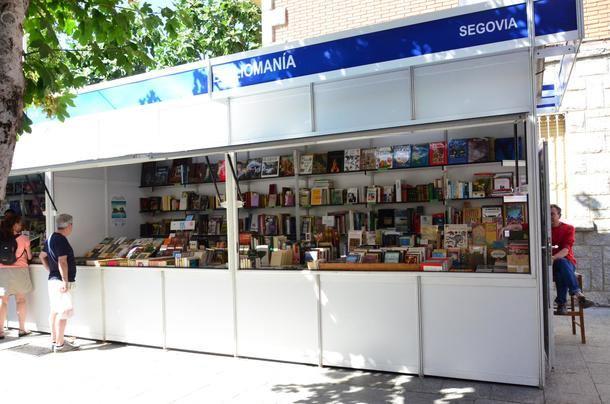 La nueva edición de la Feria del Libro Antiguo y de Ocasión se inaugura el jueves en Guadarrama