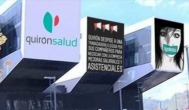Trabajadores del Grupo Quirúrgico del Hospital General de Villalba denuncian el despido de una enfermera