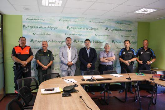 El nuevo Ejecutivo de Galapagar celebró el pasado miércoles su primera Junta de Seguridad