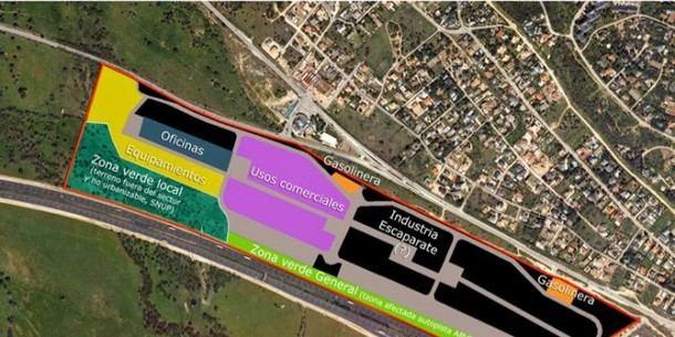 Veinte años después, el Parque Empresarial de San Lorenzo sigue en obras y sin fecha de apertura