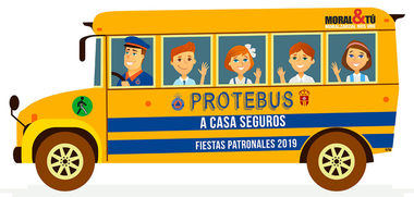 Durante las próximas fiestas de Moralzarzal, Protección Civil acompañará por la noche a los menores a sus casas