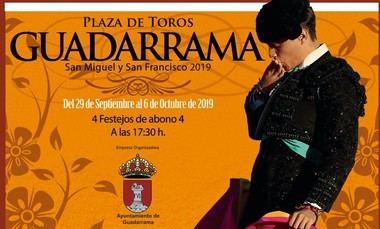 Guadarrama presenta su feria taurina 2019