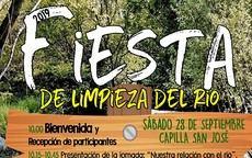 El Ayuntamiento de Los Molinos realiza por segunda vez en este año la limpieza del río Guadarrama