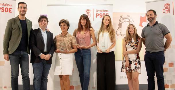 El PSOE de Torrelodones hizo entrega de los XII Premios Rafael Martínez López