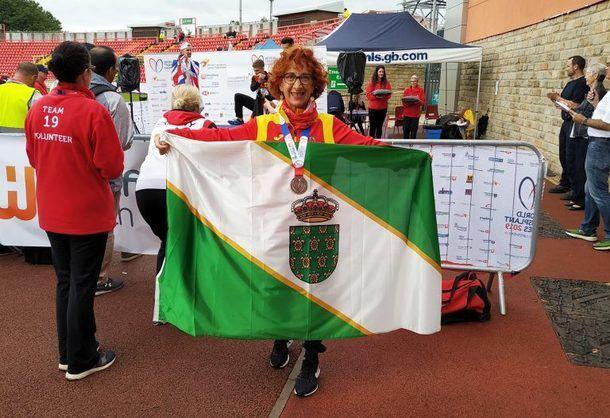 Asun Valdivieso, vecina de Galapagar, se hizo con el tercer puesto en los 3.000 metros marcha de los Juegos Mundiales de Trasplantados