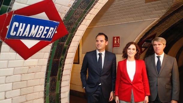 """Díaz Ayuso, en el Centenario de Metro: """"Debemos estar orgullosos de un transporte que es la envidia del Mundo"""""""