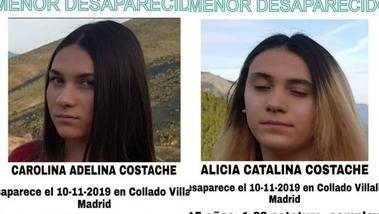 Localizan en Rumanía a dos hermanas de 15 años desaparecidas en Collado Villalba