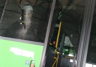 Prosiguen los ataques vandálicos contra los autobuses de IRUBUS en San Lorenzo de El Escorial