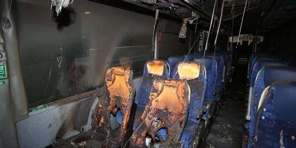 Escalada de violencia contra los autobuses de la empresa IRUBUS
