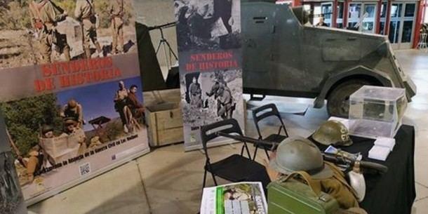 """El Ayuntamiento de Los Molinos participó en la feria """"No sólo Militaria"""""""