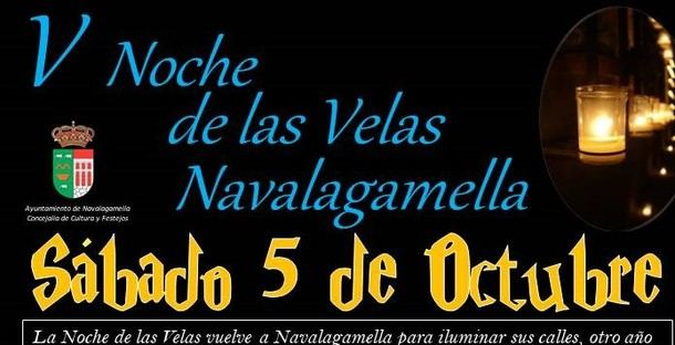 La noche de las velas en Navalagamella celebrará el próximo sábado su quinta edición