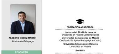 El Partido Popular descubre que el curriculum presentado por el alcalde de Galapagar es falso