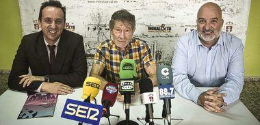Carlos Soria presenta la programación de las jornadas de Montaña de Moralzarzal