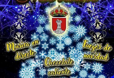 Guadarrama inauguró ayer la Navidad con el encendido de sus luces y el Belén del Hogar del Mayor