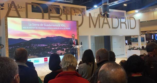La Sierra de Guadarrama participará un año más en FITUR