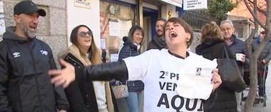 La Administración de San Lorenzo de El Escorial repartió 37,5 millones de euros al vender el segundo premio del Sorteo de Navidad