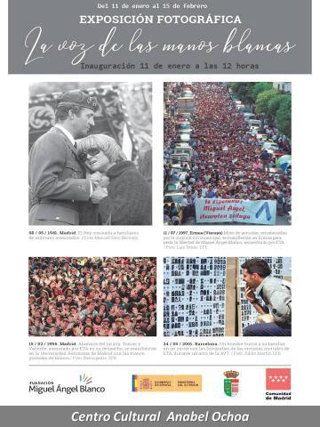'La voz de las manos blancas' se expondrá en Navalagamella del 11 al 15 de enero próximo