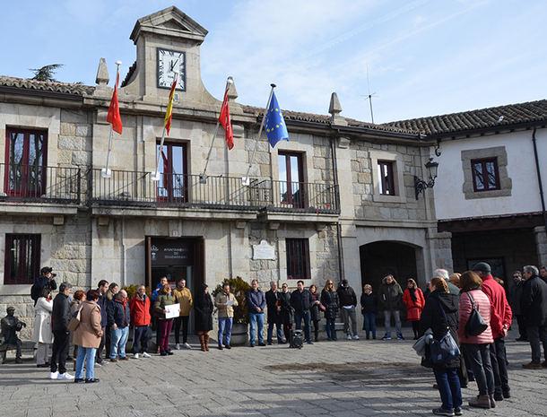 Guadarrama se unió este lunes al Día Internacional en Memoria de las Víctimas del Holocausto