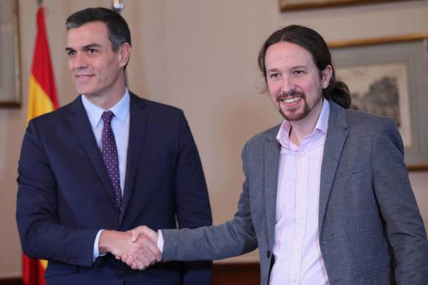 Pedro Sánchez y Pablo Iglesias, a por los cinco hospitales públicos de gestión privada de la Comunidad de Madrid