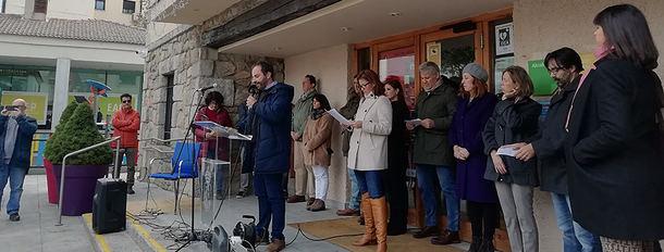 Torrelodones salió el domingo a la calle en contra de la Violencia de Género