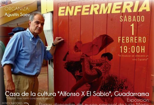 El Dr. Crespo ofrece en Guadarrama su conferencia 'Cirujano de Plaza, otra visión de la Fiesta'