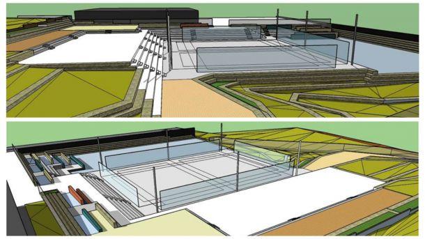 El Cantizal de Las Rozas contará con un gran complejo deportivo con pistas de parkour, calistenia, 'Chase-tag', 'slackline' y multideporte