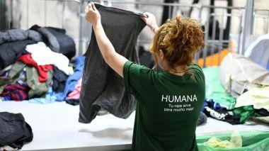 Humana recoge 26 toneladas de textil usado durante el primer semestre en El Escorial