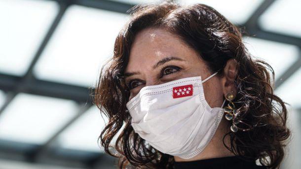 Díaz Ayuso asiste al homenaje de Estado a las víctimas de la pandemia del COVID-19