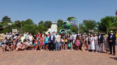Visita de una delegación de la AVT a Villanueva de la Cañada