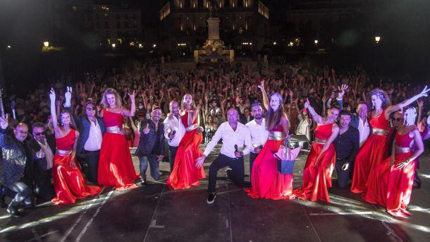 Un concierto único en la Plaza de Oriente de Madrid