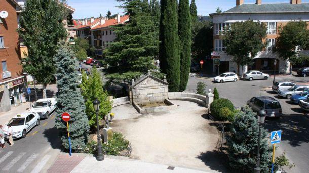 El lunes se inician las obras de saneamiento en la plaza del Caño de Torrelodones