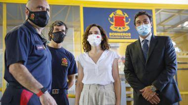 Díaz Ayuso alerta del aumento 'peligroso' de incendios este verano