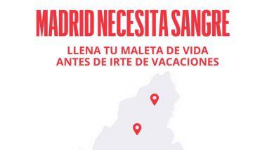 Campaña de donación de sangre en Torrelodones