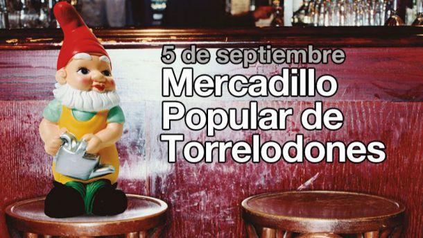 Mercadillo Popular de Torrelodones el 5 de septiembre