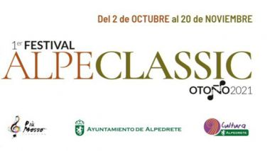 Alpeclassic 2021: El Festival de música clásica de Alpedrete