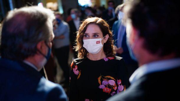 Díaz Ayuso ensalza a la hostelería de la Comunidad de Madrid