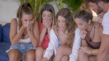 La reacción de los participantes de 'La última tentación' al conocer la infidelidad de Isaac 'Lobo'
