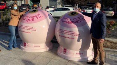 Majadahonda y Ecovidrio se unen en la campaña solidaria 'Recicla Vidrio por ellas'