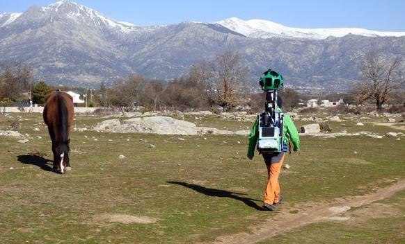 La Sierra de Guadarrama se muestra al mundo a través de Google-Trekker