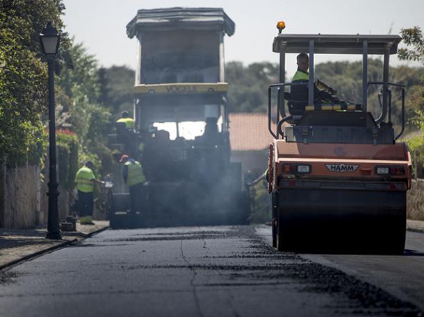 Las Rozas afronta en las próximas semanas la mayor operación asfalto de su historia